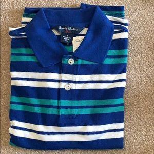 NWT boys striped polo Brooks Brothers